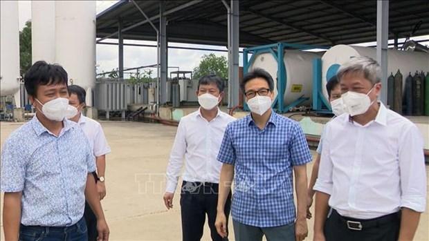 Vicepremier pide mejorar capacidad de produccion de oxigeno en provincia de Binh Duong hinh anh 1