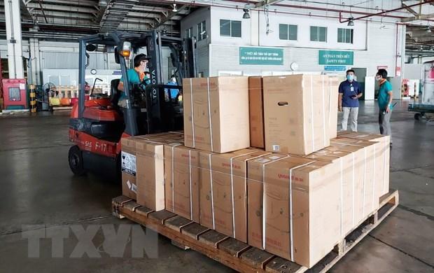 Ciudad Ho Chi Minh continua recibiendo donativos para su lucha contra COVID-19 hinh anh 1
