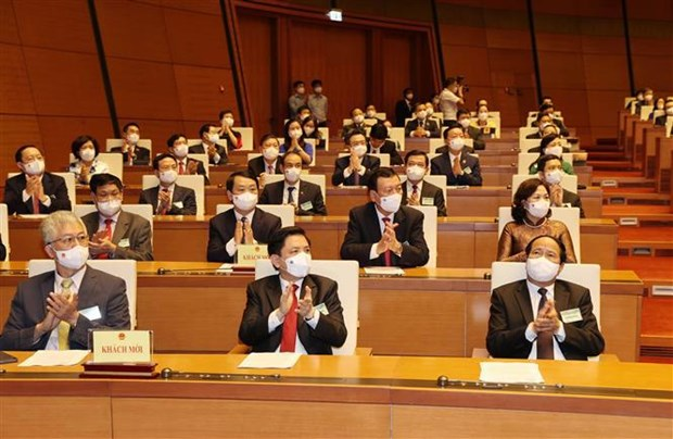 Maximo dirigente partidista de Vietnam insta a fortalecer papel de Parlamento hinh anh 2