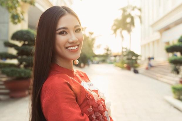 Representante de Vietnam participara en concurso Miss Universo 2021 hinh anh 2