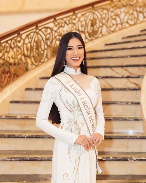 Representante de Vietnam participara en concurso Miss Universo 2021 hinh anh 3