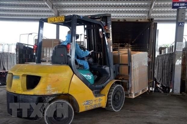 Prospera comercio transfronterizo de Vietnam pese a pandemia gracias a la puerta en Mong Cai hinh anh 1