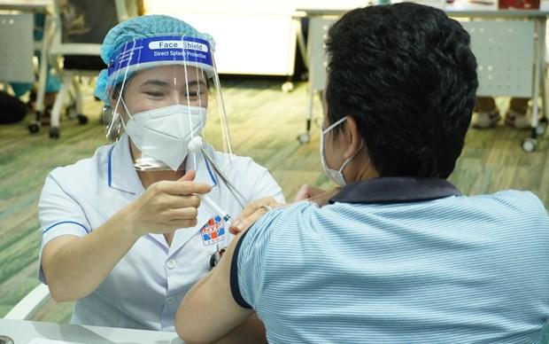 Ciudad Ho Chi Minh desplegara quinta fase de vacunacion contra el COVID-19 hinh anh 1