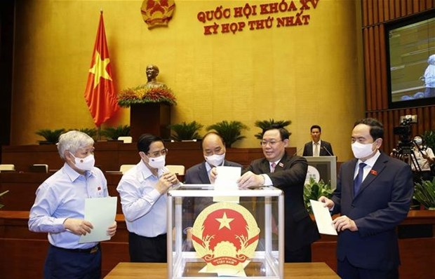 Eligen a jefes de entidades de Asamblea Nacional de Vietnam hinh anh 1