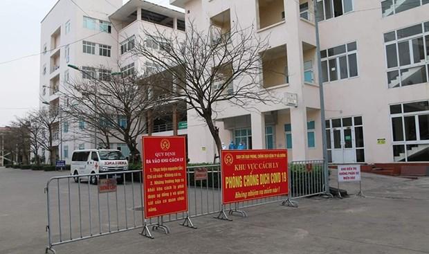 Hanoi comienza aislamiento concentrado a ciudadanos desde zonas epidemicas hinh anh 1