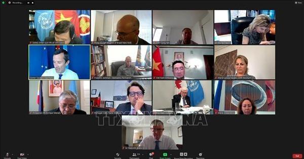 Vietnam preside reunion internacional sobre papel de UNCLOS en desarrollo sostenible hinh anh 1