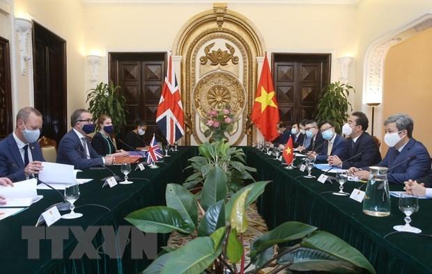 Vietnam y el Reino Unido por intensificar lazos en sectores clave hinh anh 2