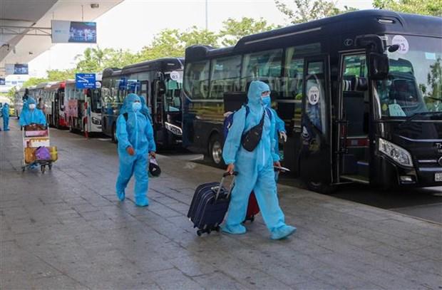 Hanoi comienza aislamiento concentrado a ciudadanos desde zonas epidemicas hinh anh 2