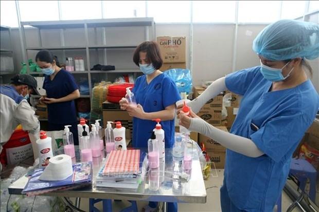 Vietnam registra nuevo maximo de contagios diarios de COVID-19 hinh anh 1