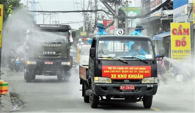 Proponen enviar a Ciudad Ho Chi Minh siete mil trabajadores de salud hinh anh 2