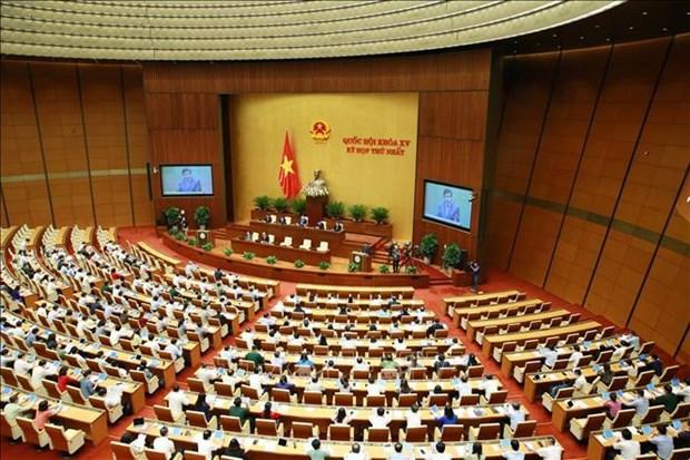 Legisladores de Vietnam debaten plan quinquenal de inversion publica hinh anh 1