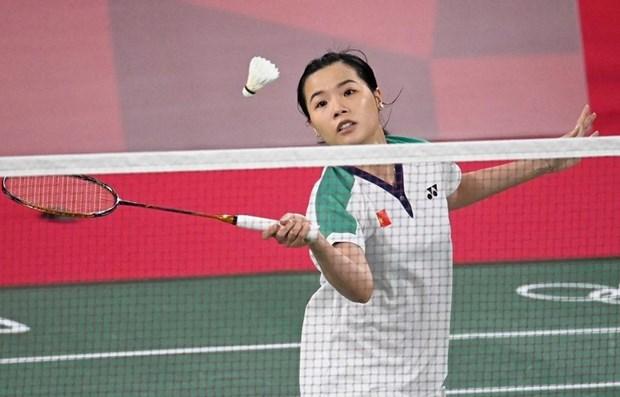 Badminton vietnamita abrio Juegos Olimpicos con una contundente victoria hinh anh 1