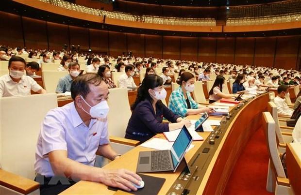 Prosiguen primer periodo de sesiones del Parlamento de Vietnam hinh anh 1