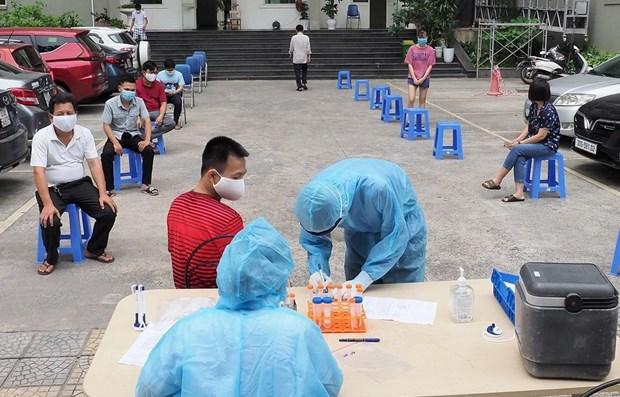 Reporta Vietnam tres mil 552 casos nuevos de COVID-19 hinh anh 1