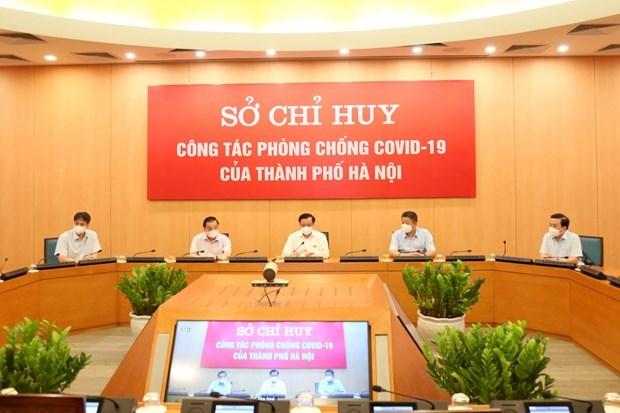 Hanoi por controlar eficientemente el COVID-19 hinh anh 1