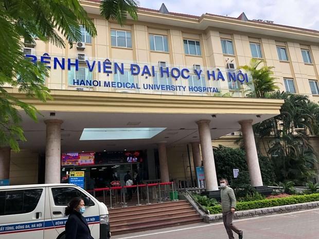Instalaran en Hanoi centro de cuidados intensivos de respuesta a COVID-19 hinh anh 1
