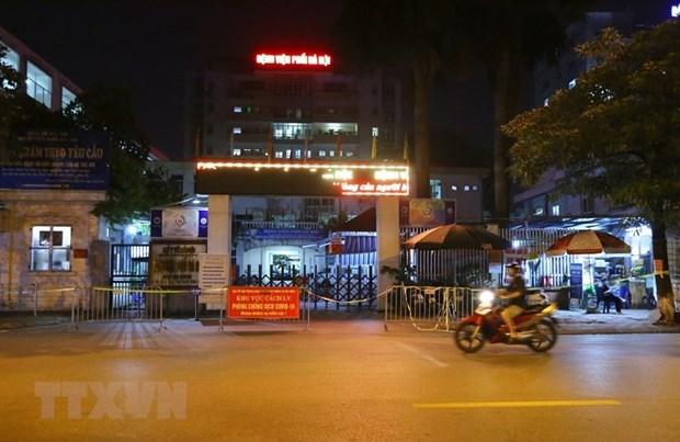 Reporta Hanoi 24 casos nuevos del COVID-19 hinh anh 1