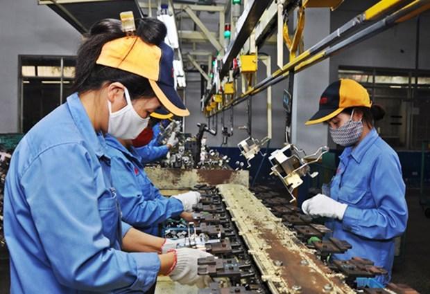 Provincia vietnamita de Vinh Phuc fortalece desarrollo de la industria auxiliar hinh anh 1