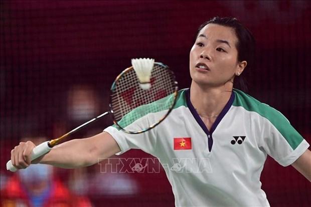 Badmintonista vietnamita cede ante rival taiwanesa en Juegos Olimpicos de Tokio 2020 hinh anh 1