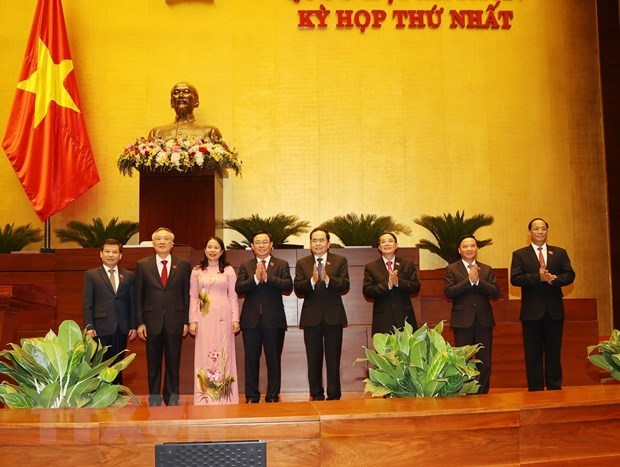Parlamento vietnamita elige a vicepresidenta del Estado y dirigentes del poder judicial hinh anh 1