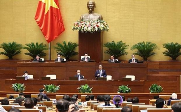 Parlamentarios vietnamitas sugieren medidas para impulsar construccion de nueva ruralidad hinh anh 1