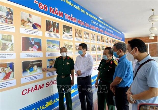 Exhiben fotos sobre 60 anos de desastre del Agente Naranja en Vietnam hinh anh 1