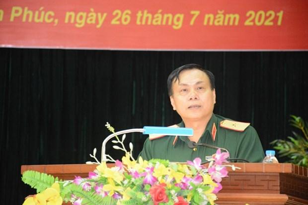 Equipo vietnamita de artilleria partira a los Juegos Militares Internacionales 2021 hinh anh 1