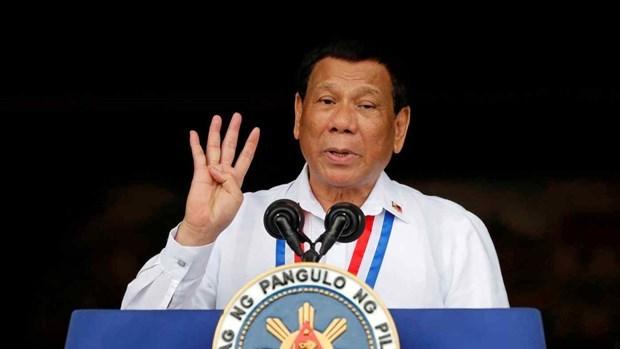 Presidente filipino rinde su ultima cuenta publica a la nacion hinh anh 1