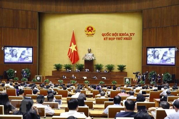 Concluye octava jornada de periodo de sesiones parlamentarias de Vietnam hinh anh 1