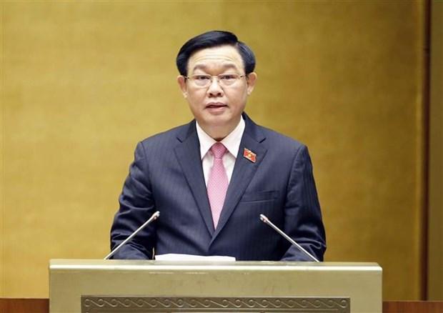 Presidente del Parlamento insta a fortalecer apoyo a personas con meritos revolucionarios en Vietnam hinh anh 2
