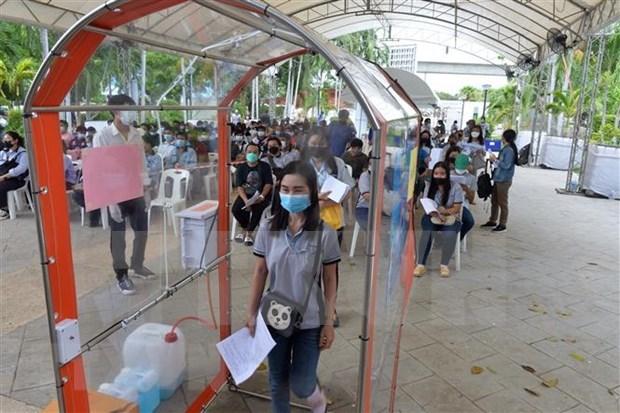 COVID-19: Bangkok aplica estrategia antiepidemica a partir de pruebas rapidas hinh anh 1