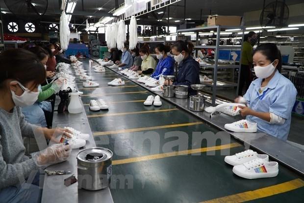 Exportaciones vietnamitas de calzado superan los 11 mil millones de dolares hinh anh 1