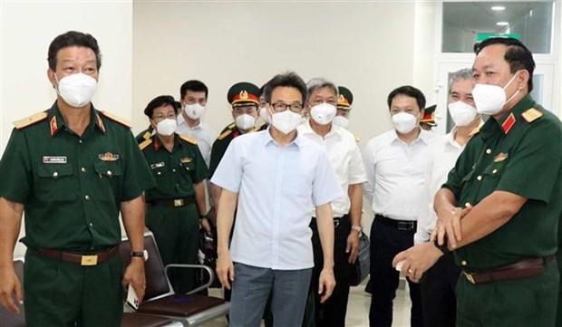 Ciudad Ho Chi Minh necesita medidas extraordinarias contra COVID-19, dice vicepremier hinh anh 1