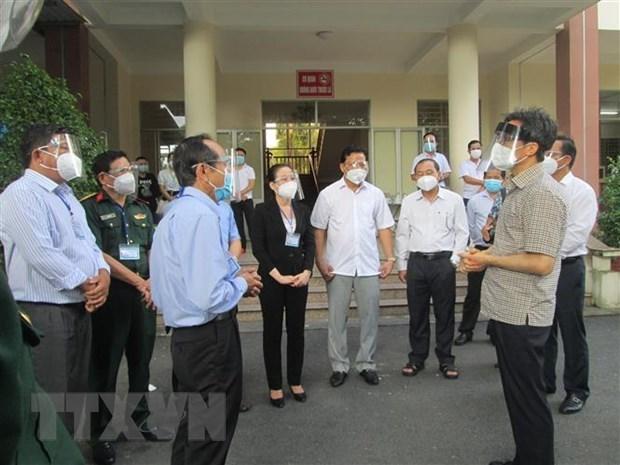 Exigen a provincia vietnamita de Long An fortalecer prevencion de COVID-19 hinh anh 1