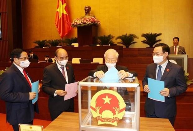 Parlamento de Vietnam aprueba los cargos de Viceprimeros ministros hinh anh 1
