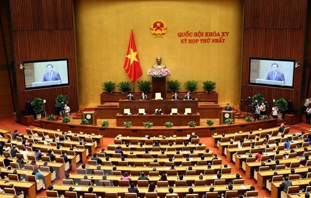 Concluye primer periodo de sesiones de la Asamblea Nacional de XV legislatura hinh anh 1