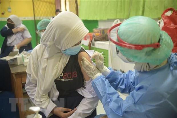 Indonesia opta por vacunar a mas de 200 millones de ciudadanos hinh anh 1