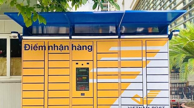Correo de Vietnam pone a prueba el servicio de entrega sin contacto hinh anh 1