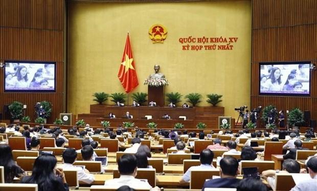 Parlamento de Vietnam ultima debates en periodo de sesiones hinh anh 1