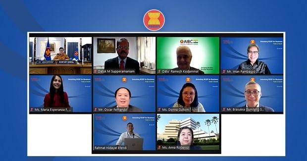 ASEAN inicia una serie de seminarios sobre el RCEP hinh anh 1