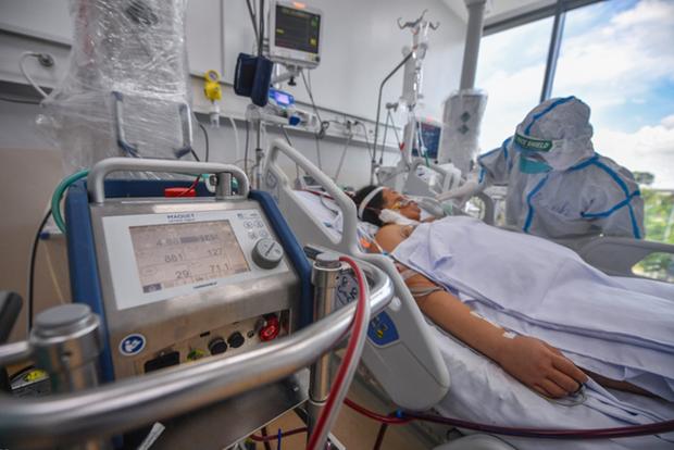 Establecen tres centros de cuidados intensivos del COVID-19 en Ciudad Ho Chi Minh hinh anh 1