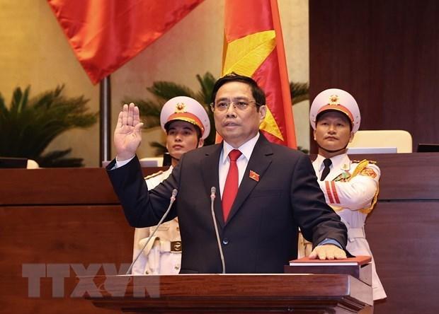 Primer Ministro de Corea del Norte felicita a jefe del Gobierno vietnamita hinh anh 1