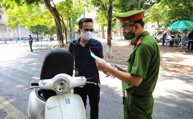 Hanoi detecta 26 nuevos casos del coronavirus hinh anh 1