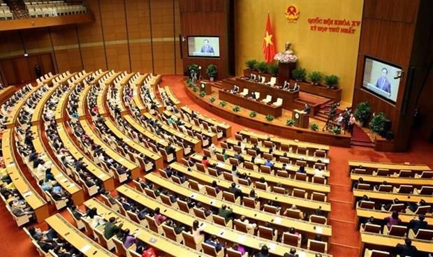 Resaltan exito del primer periodo de sesiones del Parlamento vietnamita de XV legislatura hinh anh 1