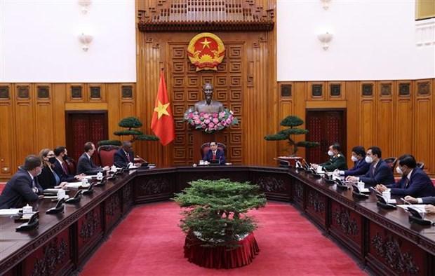 Primer Ministro de Vietnam aboga por impulsar asociacion integral con Estados Unidos hinh anh 2