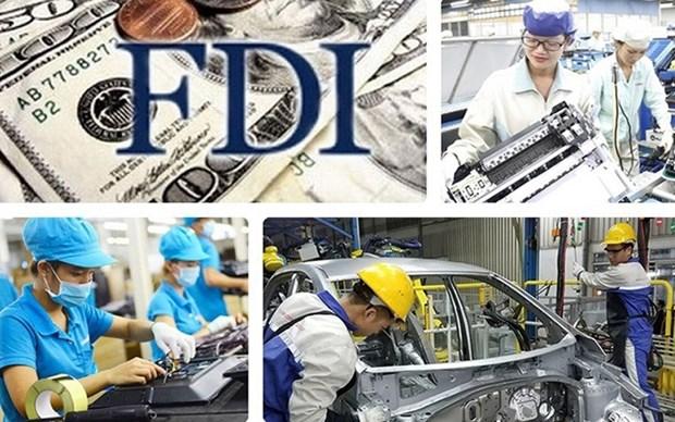 Crece superavit comercial del sector de IED en Vietnam hinh anh 1