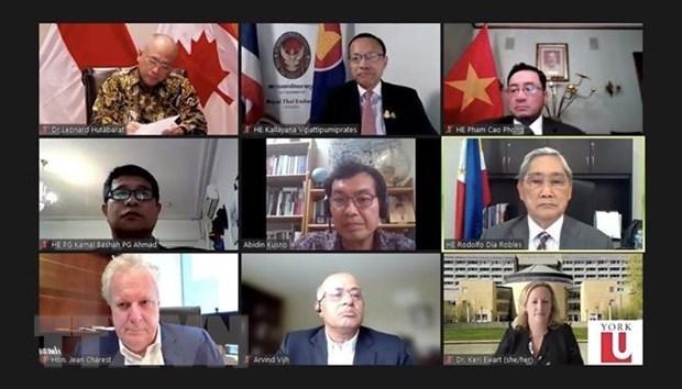 Propone Vietnam medidas para fortalecer lazos ASEAN-Canada hinh anh 1
