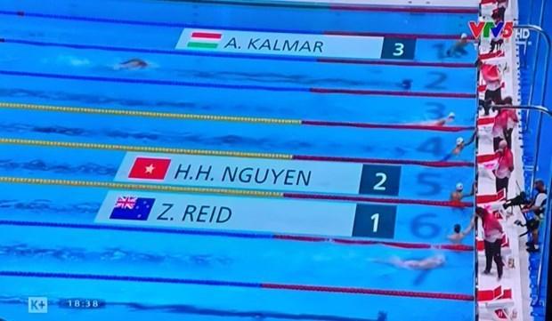 Nadador brinda a Vietnam nueva esperanza en los Juegos Olimpicos hinh anh 1