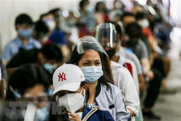 Aplicaran estrictas medidas de cuarentena en Manila debido a variante Delta hinh anh 1