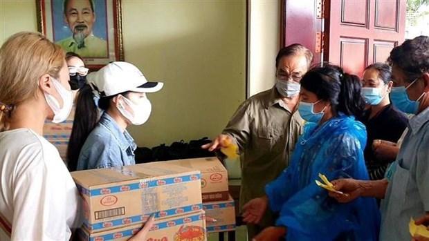 Fortalecen solidaridad con residentes de origen vietnamita en Camboya hinh anh 1